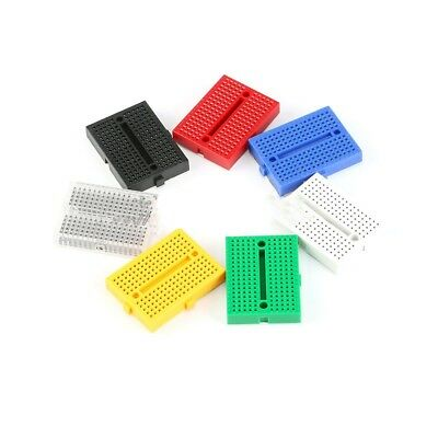 7 Colors Mini Solderless Prototype Breadboard Small Plates 170 Tie-points