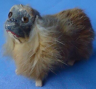 Antique Pekingese Tibetan Spaniel Dog French Fashion Doll Germany