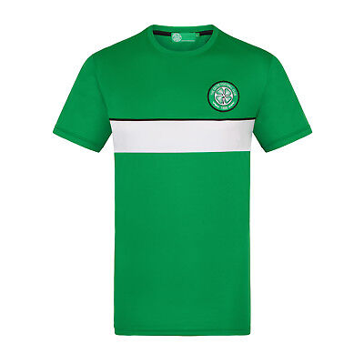 Celtic FC Official Football Gift Mens Poly Training Kit T-Shirt