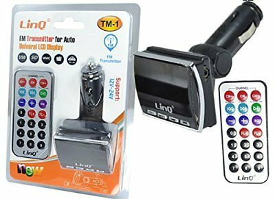 Trasmettitore Fm Bluetooth Mp3 Usb Sd / Mmc Per Auto Linq Tm-1