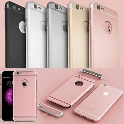 Luxury UltraThin Shockproof Hybrid 360 Case Cover For Apple iPhone X 8 7 6S Plus