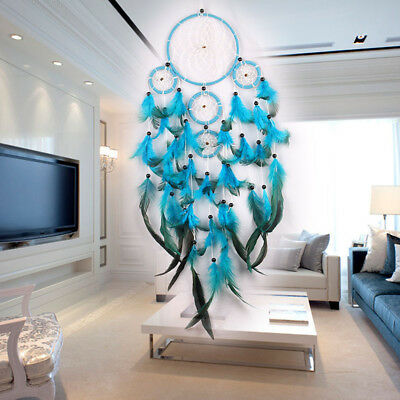 Wall Large Cm Decoration With Dream Catcher Feathers Gift Hanging Car Ornament