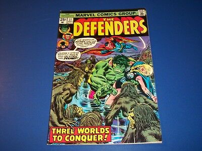 Defenders #27 Bronze Age Guardians of the Galaxy FVF Beauty 1st Starhawk Cameo