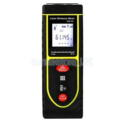 197ft/60m Digital Electronic Measurement Laser Distance Meter Measurer S