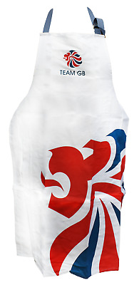 NEW London 2012 Team GB Cotton Apron Kitchen Cooking Baking Olympic Memorabilia