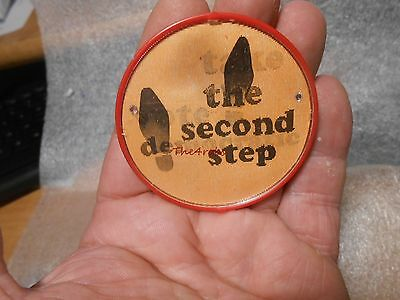 Take The Second Step Vote Democratic Flasher Pinback Button