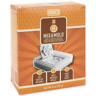 Amaco MIX A MOLD 8 oz Mix with Cold Water Make Flexible Rubber Molds Made in USA
