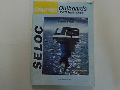 SELOC JOHNSON EVINRUDE 1300 56-70 Repair Manual 1.5-40 Hp ... on