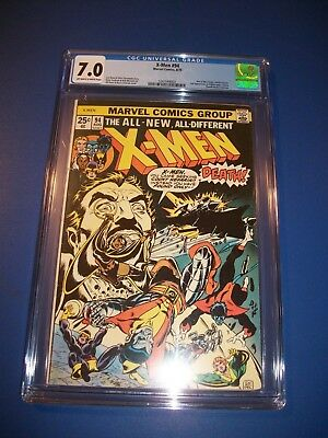 Uncanny X-men #94 1st New Team Issue Huge Key Bronze Age CGC 7.0 Beauty Wow