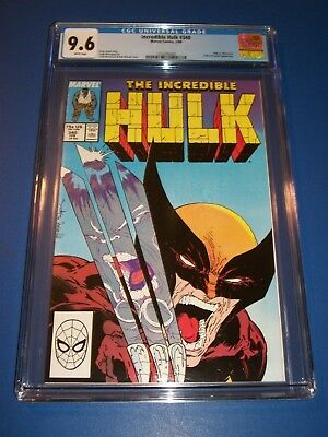 Incredible Hulk #340 McFarlane Wolverine vs Hulk Best Cover Ever! CGC 9.6 Gem