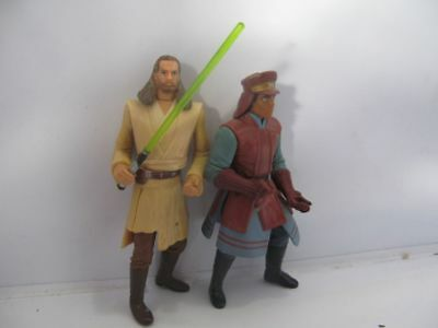 STAR WARS: Figuren Qui-Gon + Captain Panaka!