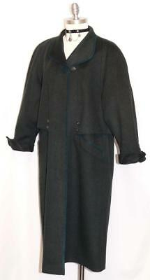 LODEN WOOL + ALPACA Long WINTER COAT Jacket Women WARM German COAT 14 L B45""