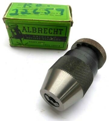 "New Albrecht No. 65 Keyless Drill Chuck, 0-1/4"" (0-6.5mm)"