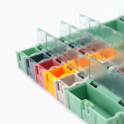 Small Objects Electronic Component SMT/SMD Kit Parts Storage Boxes Dis/Assembly