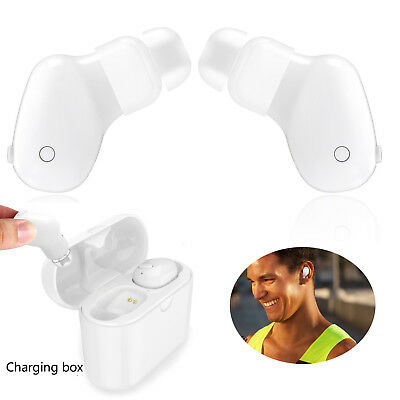 True Wireless Headphones Bluetooth Cordless Earbuds for iPhone X 8 7 Samsung LG