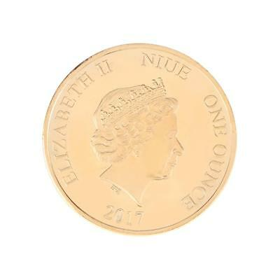 LOVE Poll Gold Plated Commemorative Coin Art Collection Collectible Tourism Gift