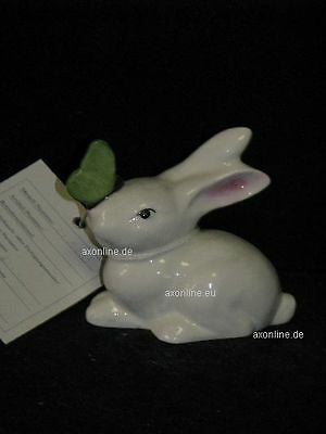 +# A006330_20 Goebel Archiv Muster Hase Bunny Rabbit mit Schmetterling 34-101