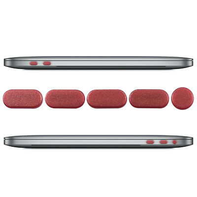"""Dust Protection Set For Apple Macbook Pro 13"""" 15"""" (From 2016) Touch Bar Rose"""