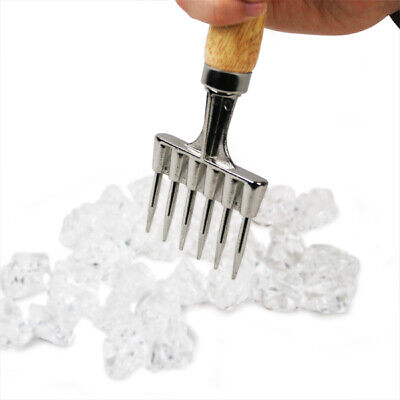 Bar Ice Pick | Wood Handle Cocktail Ice Chipper
