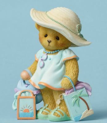 Cherished Teddies Sun Kissed Nose and Sandy Toes Bear Figurine CT1501