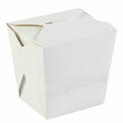 Kraft Noodle Boxes 32oz / 1ltr - Sleeve of 50 - Takeaway Containers