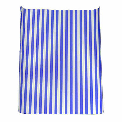 Blue Striped Greaseproof Burger Wrap x 1000 - Fast Food Greaseproof Paper