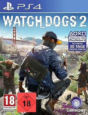 PS4 Game Watch Dogs 2 Watchdogs II New Goods