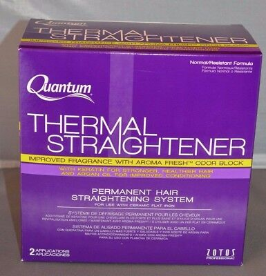 Zotos Quantum Thermal Straightener 2 Applications Normal/Resistant Formula