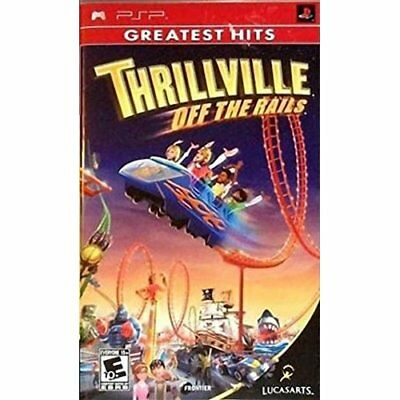 Thrillville: Off The Rails For PSP UMD Strategy Very Good 6E