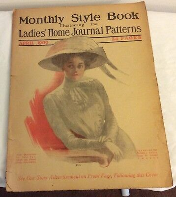 April 1909 Ladies' Home Journal Monthly Style Book Catalog - Patterns