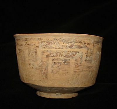 GREAT!   ANCIENT PAINTED BOWL--5000 years old! 3000BC~~~no reserve