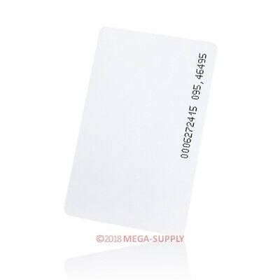 50pcs Access Control And Time Clock Use125Khz ID RFID Proximity Cards