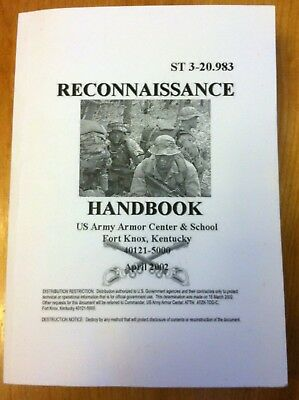 The Scout - Reconnaissance Handbook, New Unused!