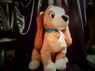 large disney lady from lady and the tramp soft toy