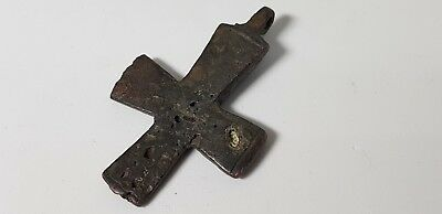 BYZANTINE BRONZE CROSS  8th,10th Century AD