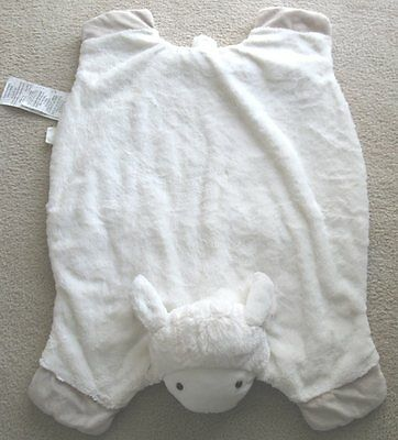 Pottery Barn Kids Lamb Plush Play Mat Sheep Soft Blanket PBK