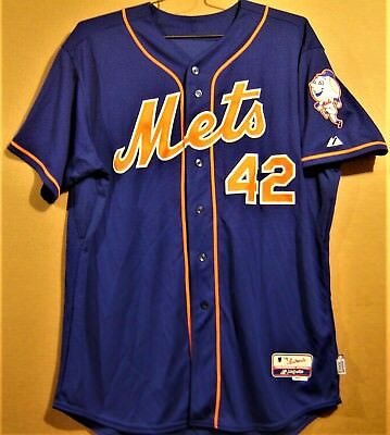 the latest 0e031 1a3a3 NEW YORK METS #42 Sullivan Button-Down Blue Mlb Jersey