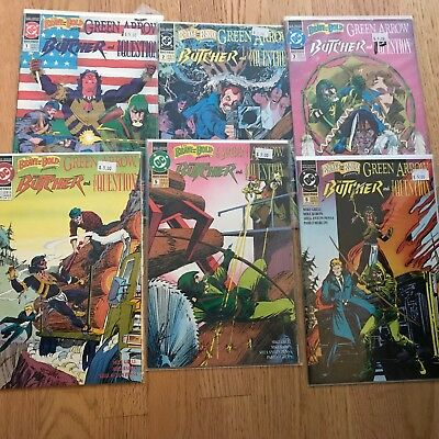 Brave & the Bold Presents Green Arrow The Butcher & The Question 1-6 Set Lot