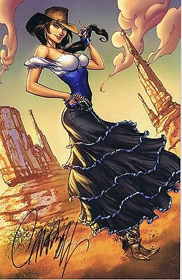 LEGEND OF OZ THE WICKED WEST 1 BLUERAINBOW EXCL LTD 500 signed J SCOTT CAMPBELL