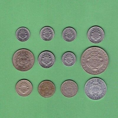 Costa Rica - Coin Collection Lot # A-1 - World/Foreign/North & Central America