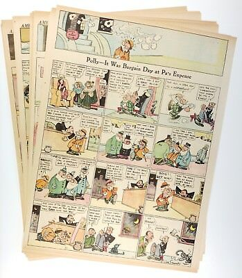 POLLY AND HER PALS (1923) - 46 Sundays by CLIFF STERRETT - w/ TILLIE THE TOILER