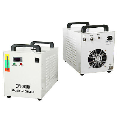 Industrial Water Chiller for 80W CO2 Laser Tube / 3KW Spindle Carving Machine