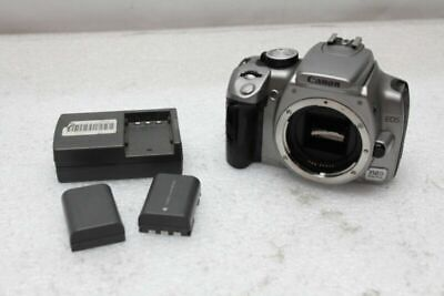 Canon 350D EOS 8MP Digital Camera Body w/ 2 Batteries and Charger