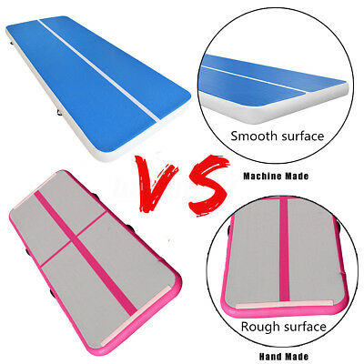 Useful Inflatable Gym Mat Air Tumbling Track Gymnastics Cheerleading Air Floor
