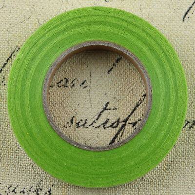 12pcs Wedding Florist Craft Stem Wrap Paper Tape Waterproof 30m Grass Green