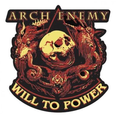 Arch Enemy - Enamel Pin Badge - Will To Power