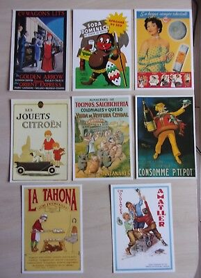 lot de 14 CARTES POSTALES  neuves  PUBLICITES     ref. 628