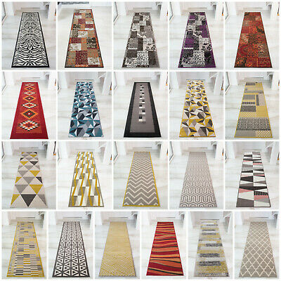 Modern Traditional Long Narrow Hallway Runner Rugs Thin Affordable Hall Runners