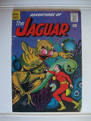 Adventures Of The Jaguar #2 G- Gulliver Of The Jungle