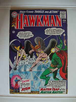 Hawkman #9 G+ Master Trap Of The Matter Master